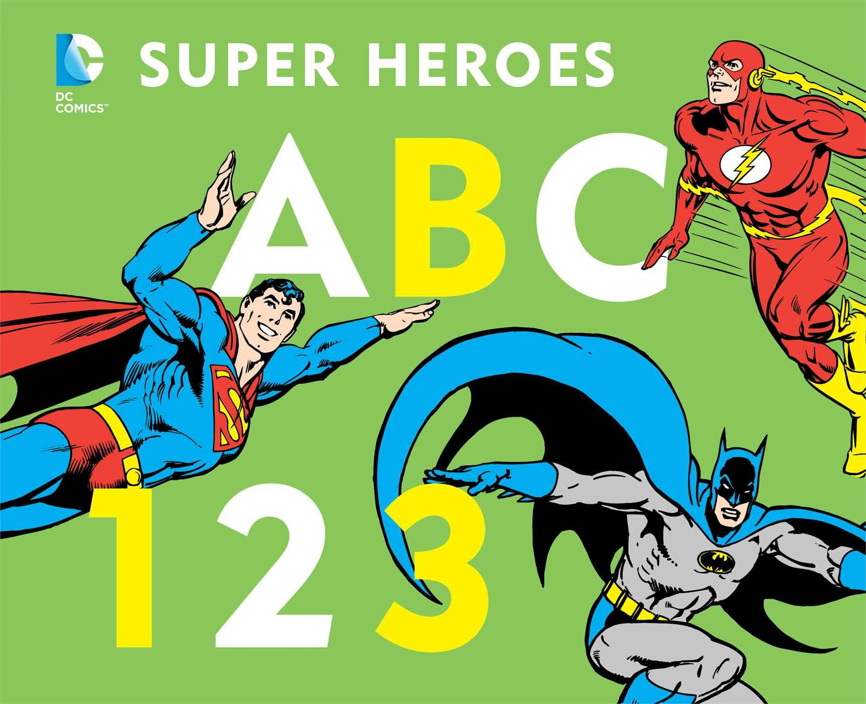 DC Super Heroes ABC 123 product image