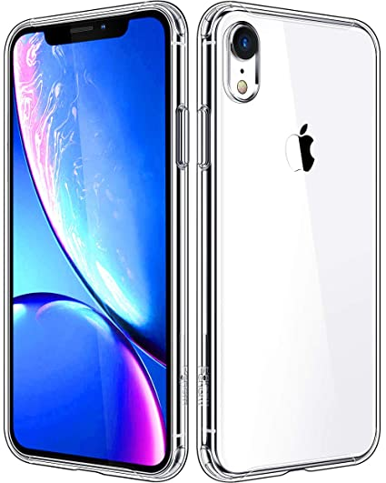 Penom Compatible with iPhone XR Cases, Clear iPhone XR Case, Anti-Scratch Shock Absorption Phone Case Cover with Soft TPU [Ultra Slim]