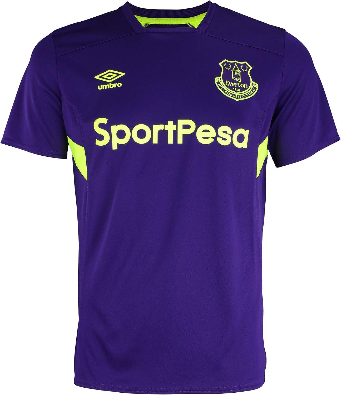 Umbro Men's Premier League Everton F.C. Training Soccer Jersey, Color Options