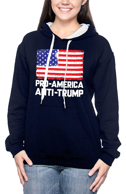 Democtrat Liberal Unisex Hoodie Sweatshirt Pro America Anti Trump