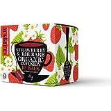 Clipper Teas - Organic Strawberry & Rhubarb Tea - 10 Bags