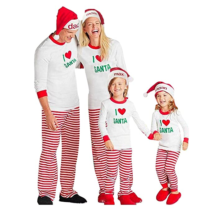 Hibote Conjunto de Ropa Familiar Kid Baby Boy Girl Camiseta de Oversize Tops Pants Xmas Pajamas: Amazon.es: Ropa y accesorios