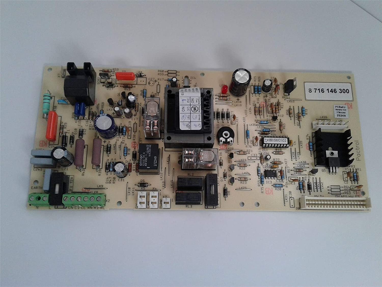 Worcester 24I RSF Control PCB Printed Circuit Board 87161463000