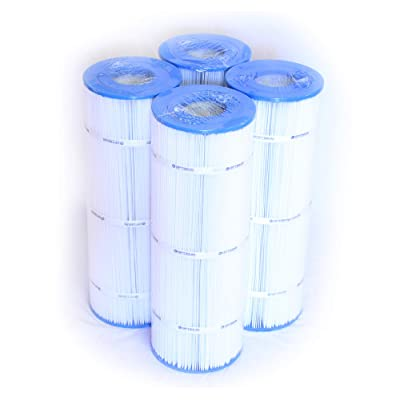 Pool Filter 4 Pack Replacement for SwimClear C-3025 / C-3030; 81 SQ.FT. Cartridge Element : Garden & Outdoor