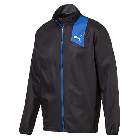 Puma Ignite - Chaqueta de Running para Hombre, Color Negro, 4059506747236, Negro,