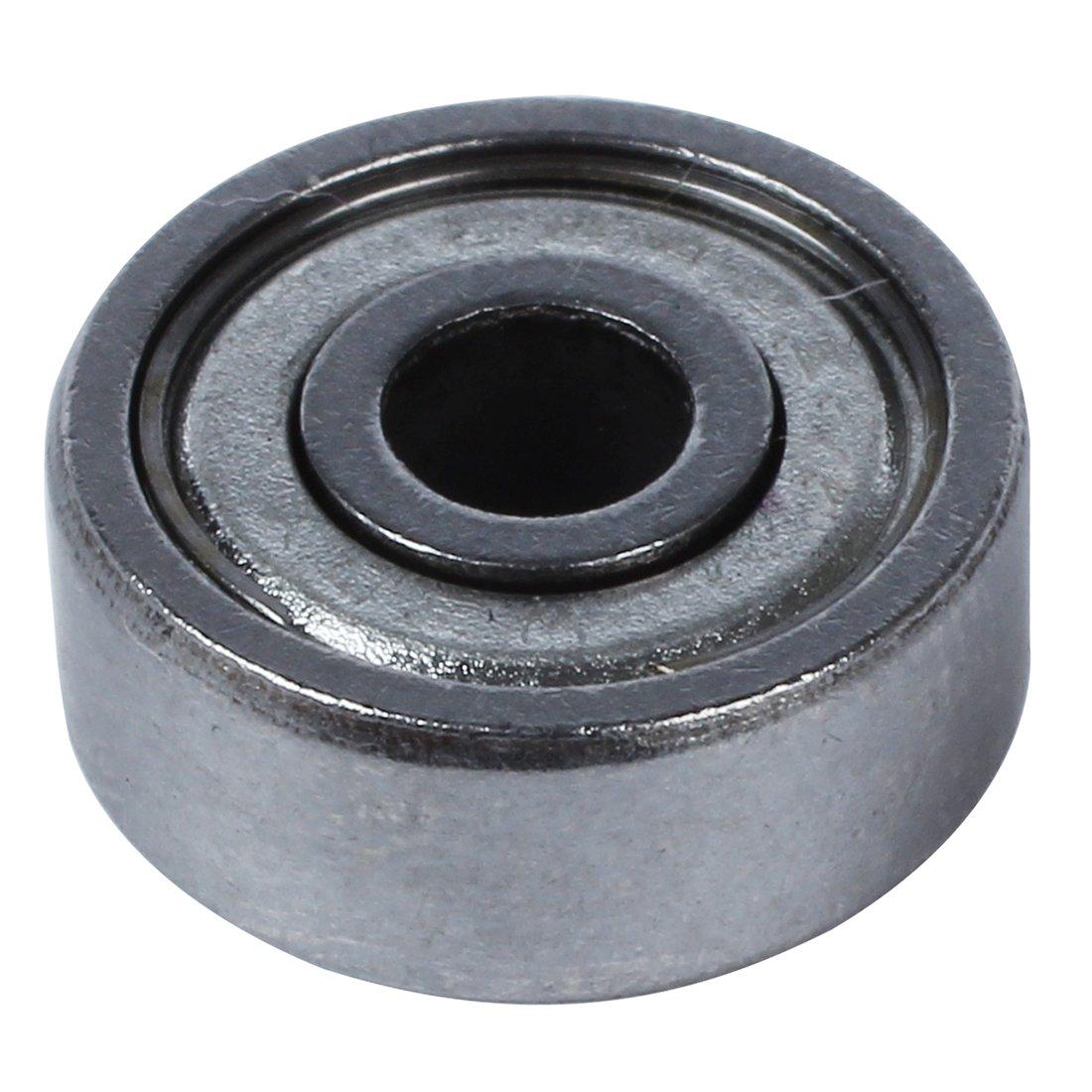 SODIAL (R) 10 pz 4mm x 13mm x 5mm 6001Z schermati gola profonda cuscinetto radiale a sfere Riga singola SODIAL(R)