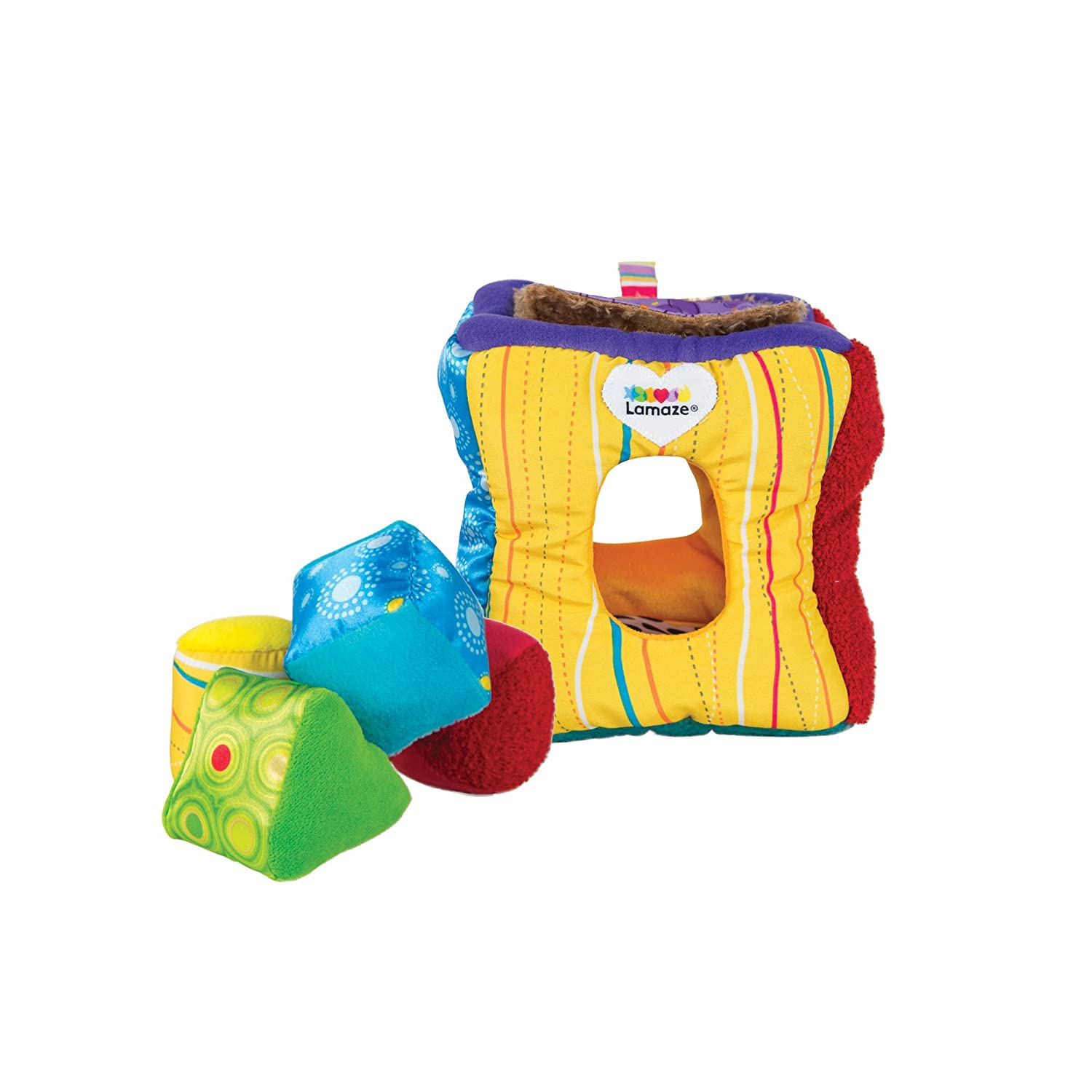 Amazon Lamaze Soft Sorter Sorting And Stacking Baby Toys