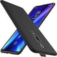 iBetter Ultracienkie Silikonowe Etui Ochronne Na Telefon Komórkowy, Na Xiaomi Mi 9T/9T Pro, Czarne