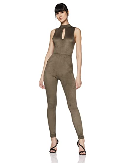 96d38302a9d Forever 21 Women s Jumpsuit  Amazon.in  Clothing   Accessories