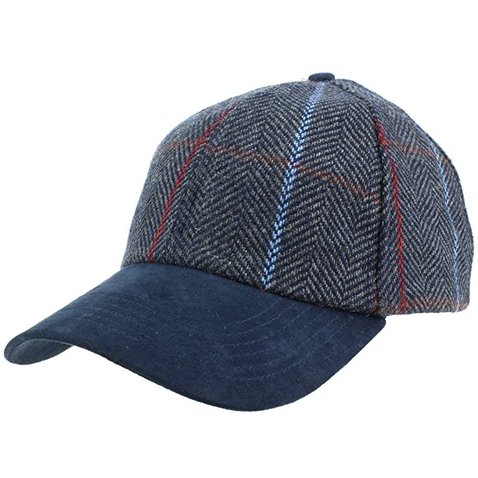 Hawkins Wool Tweed Baseball Cap Hat