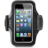 Belkin Slim-Fit Plus Armband for iPhone 5 / 5S / 5c / SE (Black / Gravel)