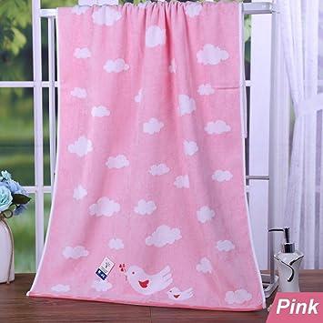 kingshore Pure algodón corte pelo bordado paz paloma Natural antibacteriano, Super agua absorbente, toallas