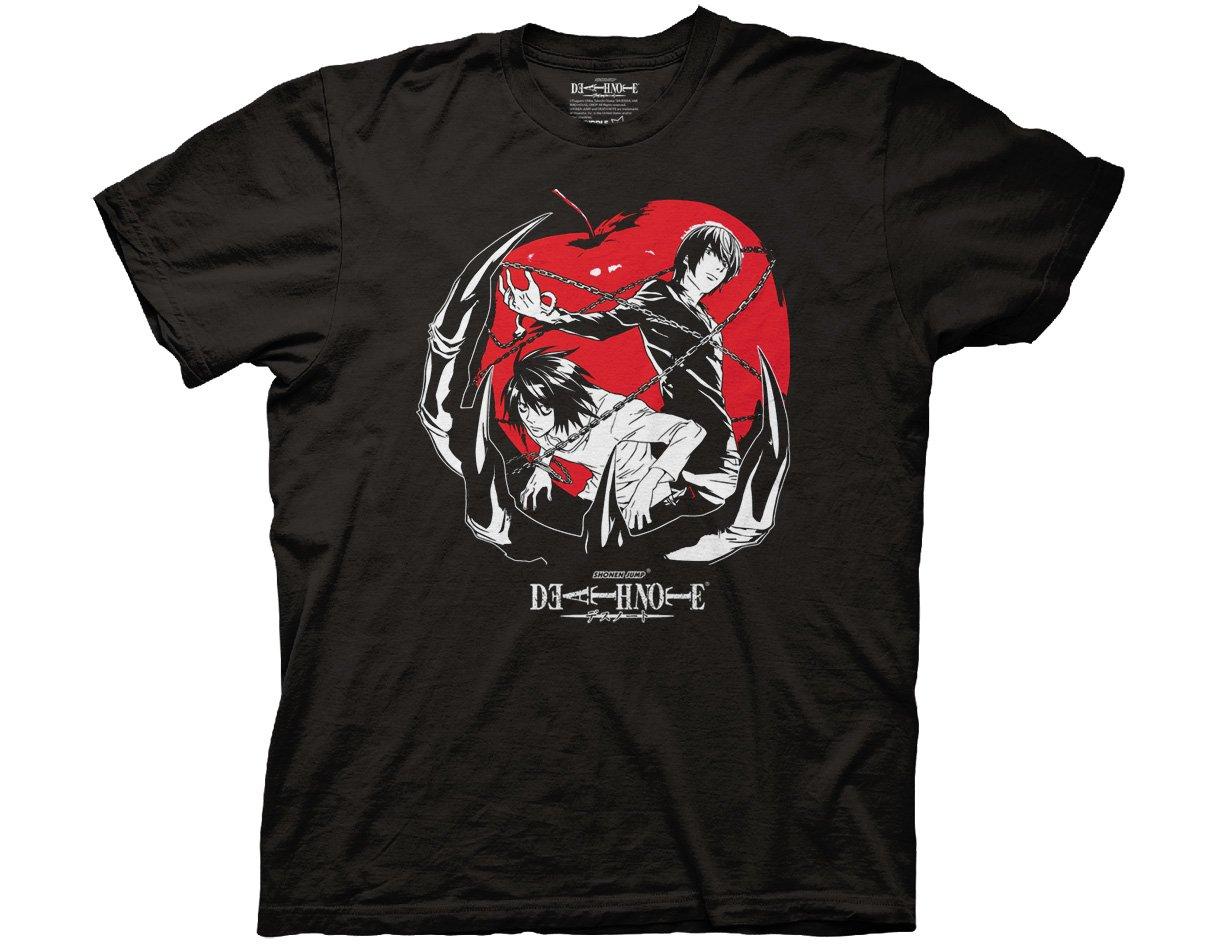 Death Note 2 Panels Adult T-Shirt
