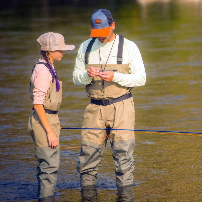 Simms Mens Tributary Stockingfoot Waterproof Chest Fishing Waders