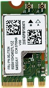 Deal4Go QCNFA435 QCA9377 802.11ac 433Mbps M.2 NGFF WiFi Adapter Wireless WLAN Card W/Bluetooth 4.1 for Dell DW1810 Qualcomm Atheros QCA9377 Windows 7,8,8.1,10(32/64bit)