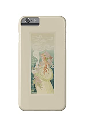 dfb7890988973e Cacao Van Houten Vintage Poster (artist  Livemont) Netherlands c. 1897 ( iPhone 6 Plus Cell Phone Case