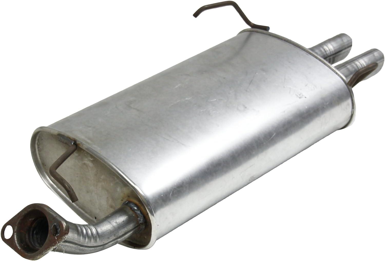 Exhaust Muffler Assembly-Quiet-Flow SS Muffler Assembly Walker 55559