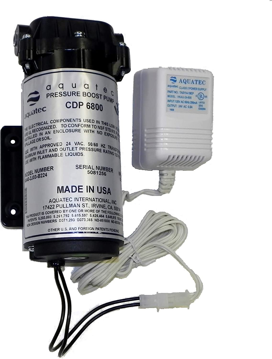 Aquatec 6800 series Booster pump with Transformer 115V/60Hz