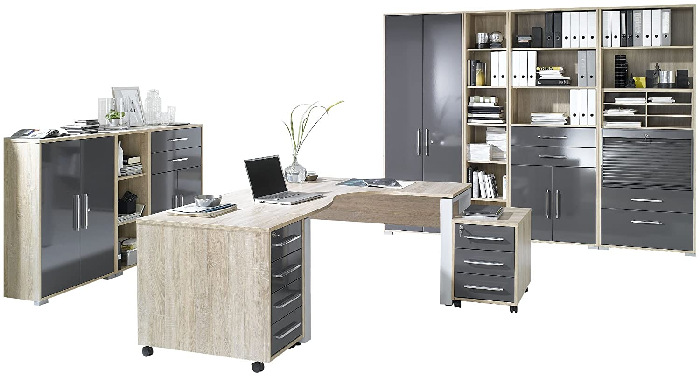 Maja Möbel 1203 2574 Büroprogramm System Sonoma Eiche Nachbildung