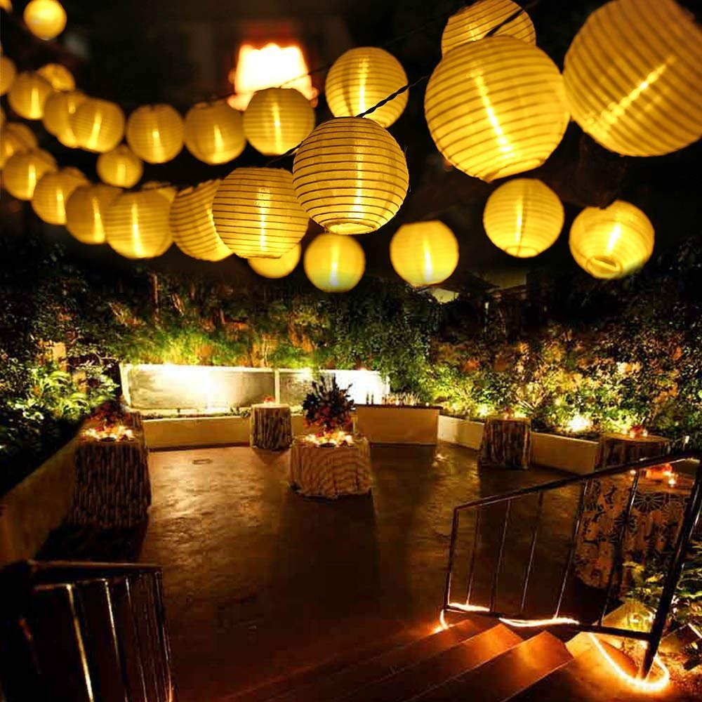LUCKLED Outdoor String Lights