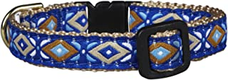 product image for Up Country Aztec Blue Cat Collar - Size 10
