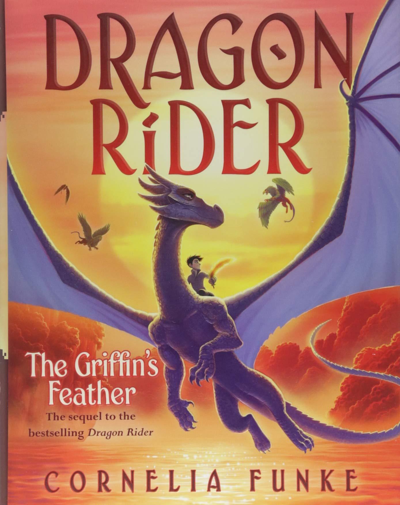 The Griffin's Feather (Dragon Rider #2): Cornelia Funke: 9781338215533:  Amazon.com: Books