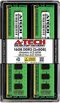 SAMSUNG 8gb 2x4GB DDR3 PC3-8500 DDR3-1066 MHZ 240 PIN Desktop Memory DIMM RAM