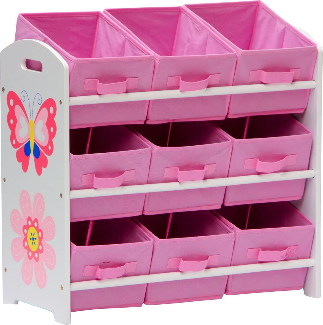 IB-Style Childrens 2 in 1 Blackboard//Whiteboard Papillon Drawing School Painting Teacher Magnetic Pink
