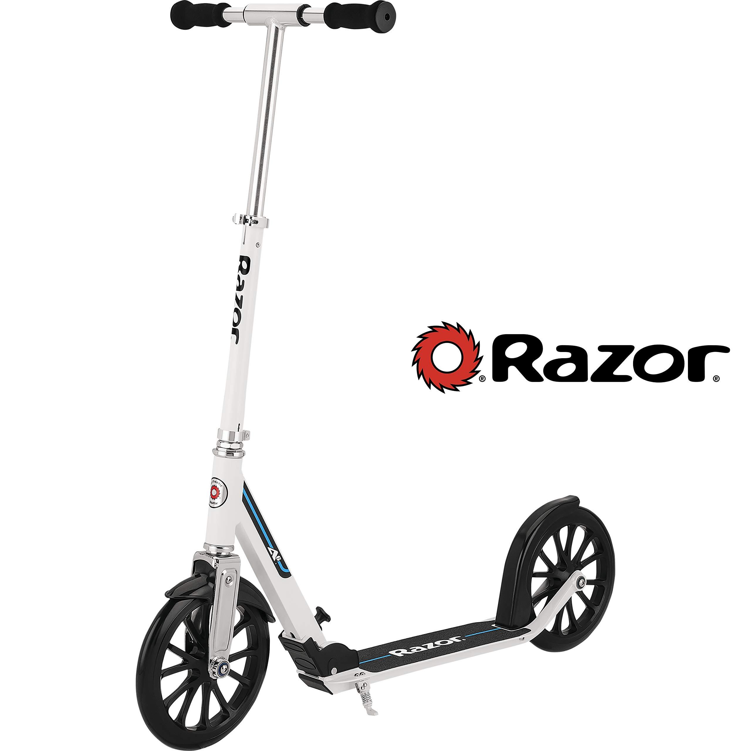 Razor A6 Kick Scooter - White by Razor