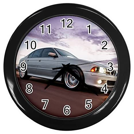 Relojes de pared ESWCR091 bmw 5 series Car Wall Clock Perfect for Home Gifts