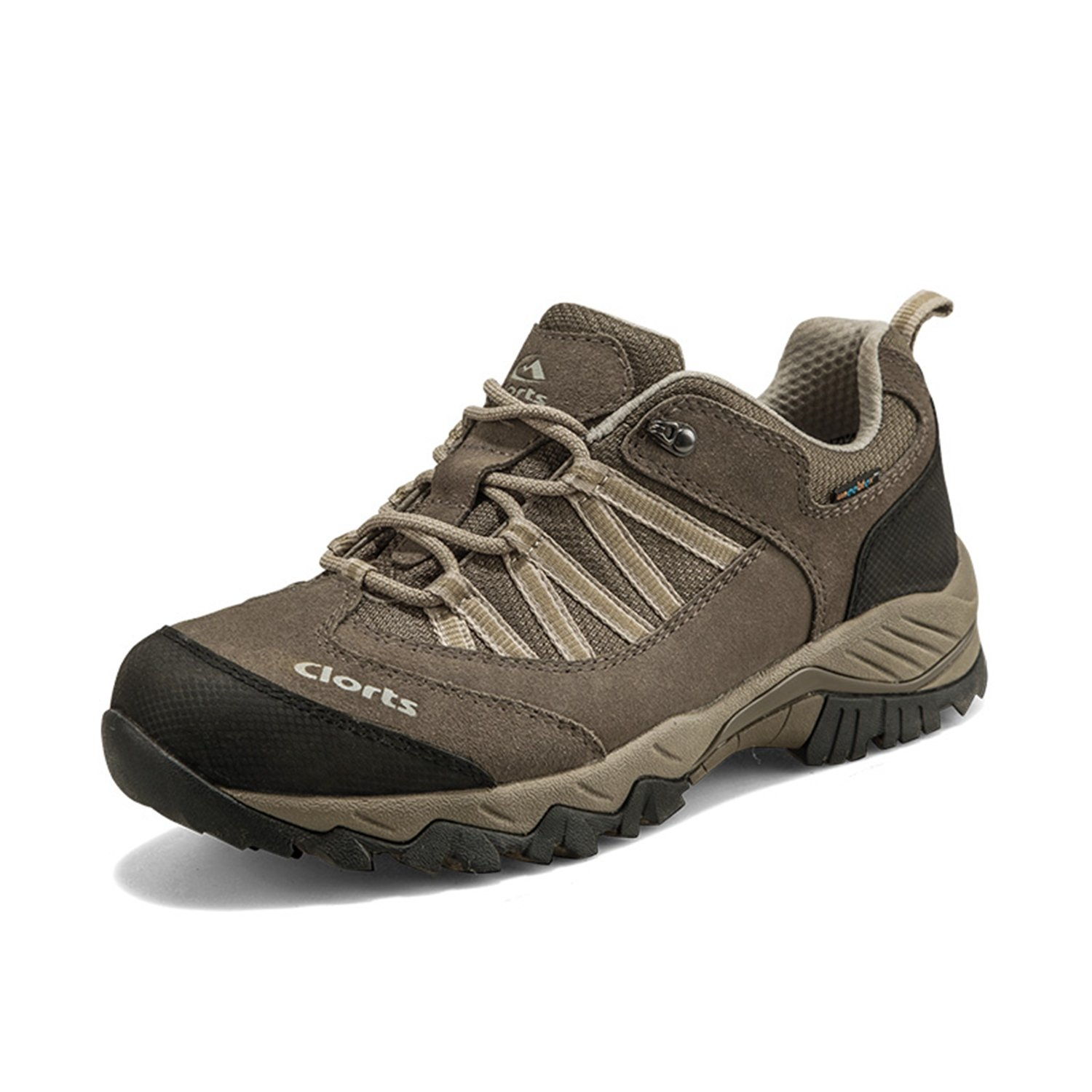 Beige 8 D(M) US Qianling Collection Men's Outdoor Suede Leather Waterproof Hiking shoes