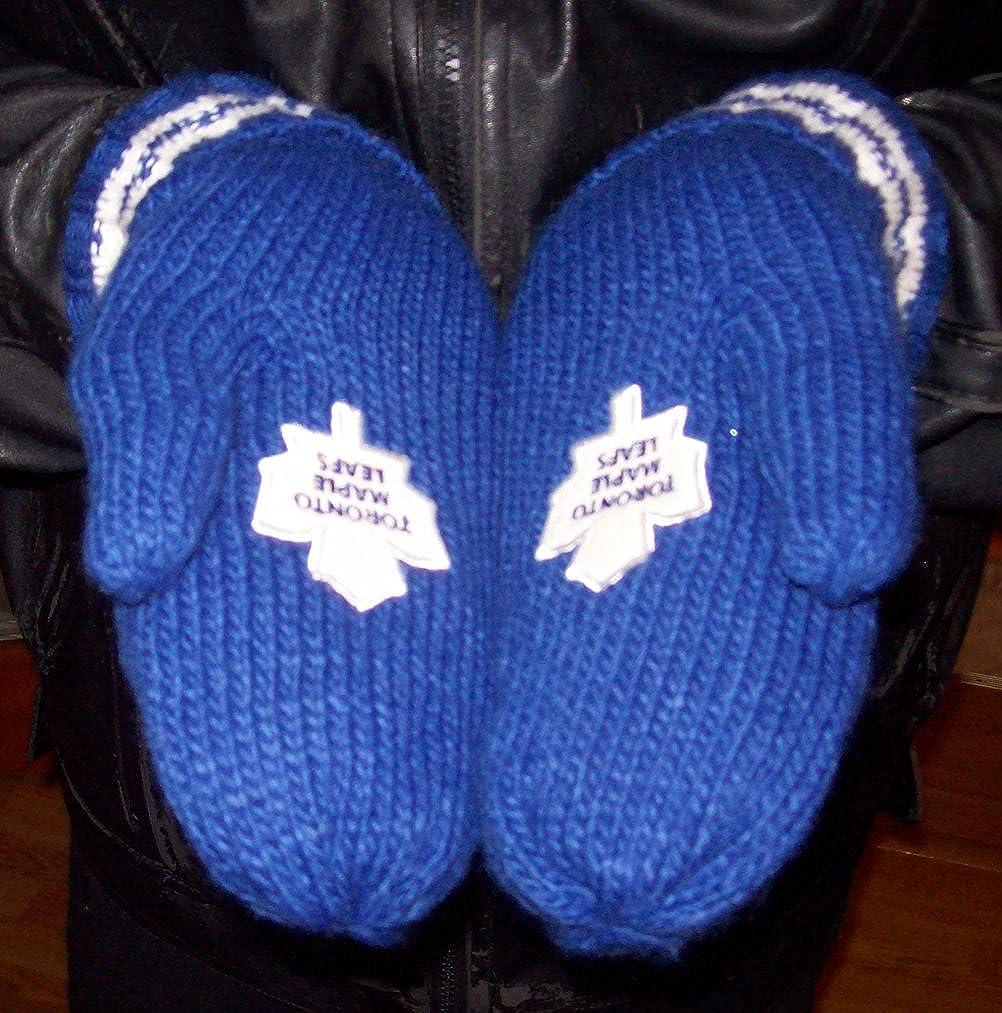NHL Toronto Maple Leafs Podium Winter Mitts L / XL