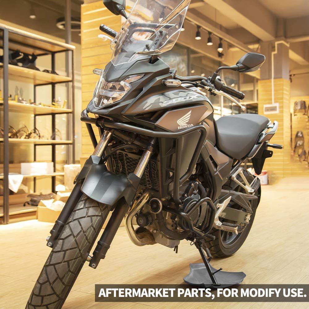 FATExpress Motorcycle Aluminum Move up 30mm Forward 22mm Back Handlebar Bar Raiser Riser Clamp Mount for Honda CB500X CB500F NC750X DCT NC700X NC700S NC 750 S X Black