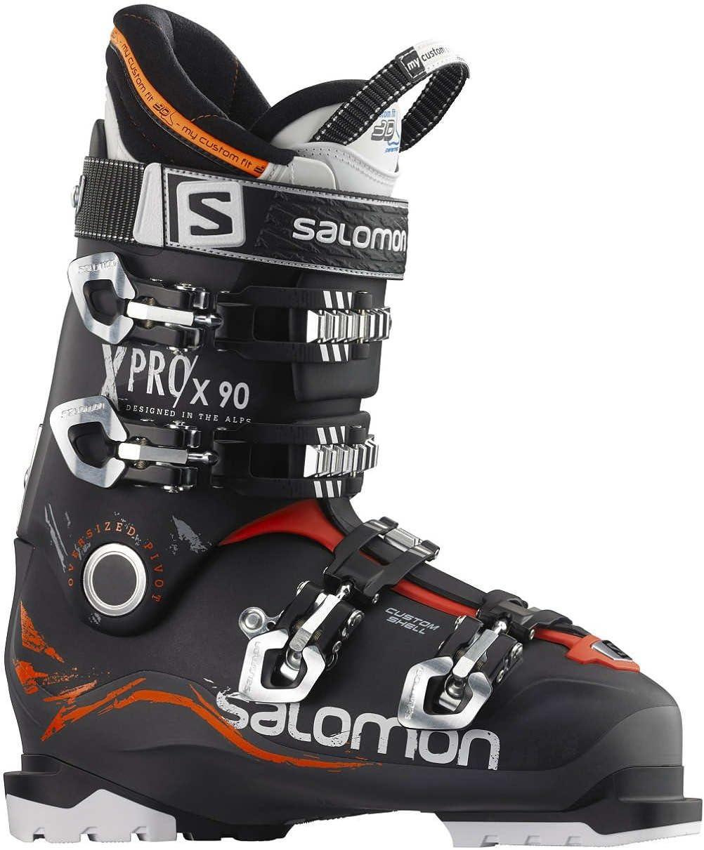 Salomon X Pro 100スキーブーツメンズ 無煙炭/ブラック 25.5 cm