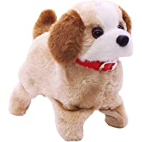ABODH Soft Toy Fantastic Puppy Battery Operated Back Flip Jumping Dancing Dog Jump Run Toy Kid
