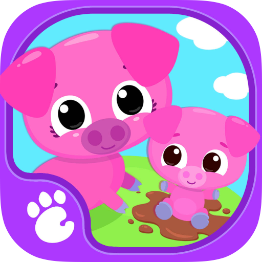Cute & Tiny Farm Animals - Baby Pet Village (Zoo Cat)