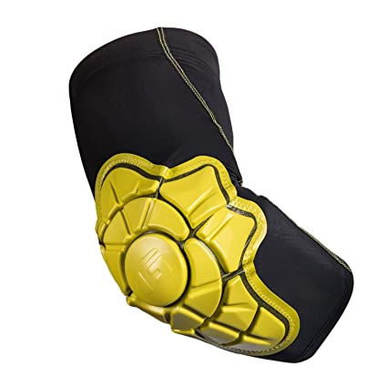 G-Form Elbow Pad XLarge Black Yellow Skate Pads