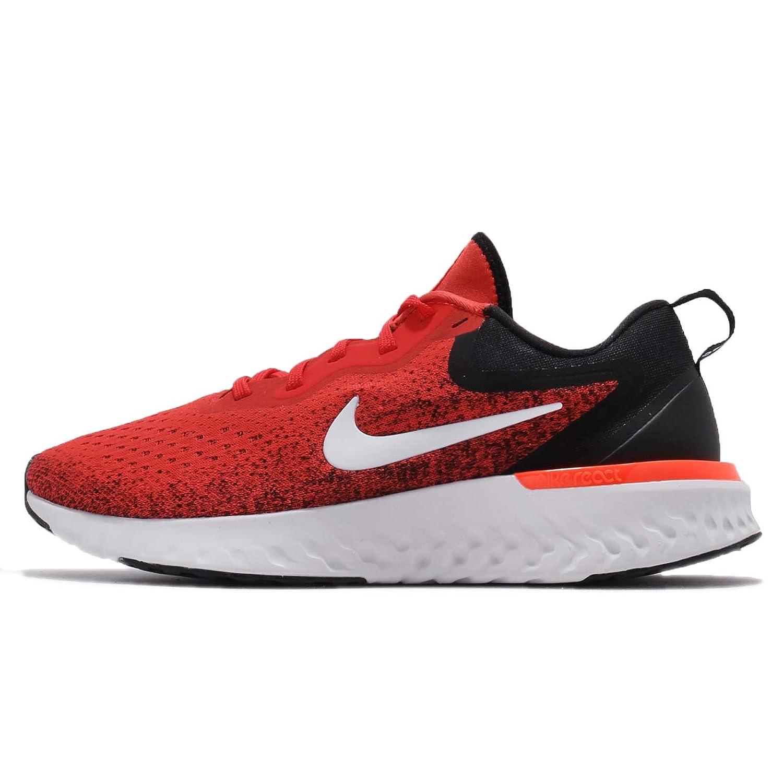 Nike Herren Laufschuh Odyssey React, Zapatillas de Running para Hombre 42.5 EU|Rojo (Habanero Red/White-b 600)