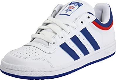 colección Profecía Descartar  Amazon.com | adidas Originals Men's Top Ten Lo Sneaker, White/Royal/Red,  12.5 M | Fashion Sneakers