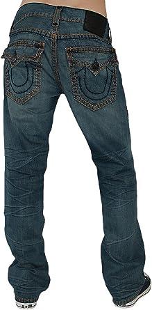 True Religion Hombre Disenador Jeans Pantalones Ricky Super T 33 Amazon Es Ropa Y Accesorios