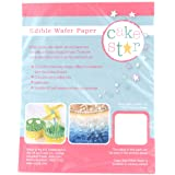 Cake Star Edible Wafer Rice Paper - White