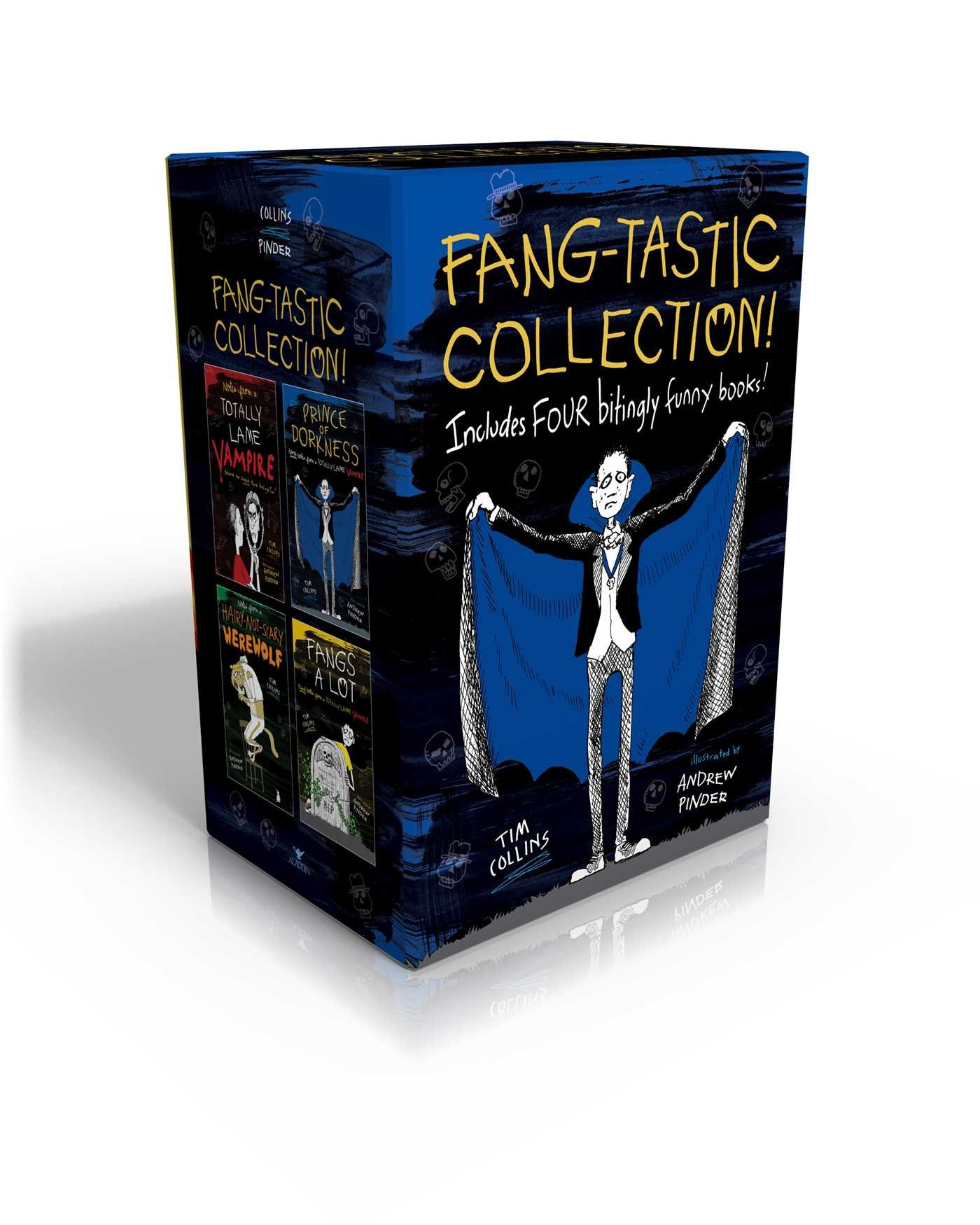 Fang-tastic Collection!: Notes from a Totally Lame Vampire; Prince of Dorkness; Notes from a Hairy-Not-Scary Werewolf; Fangs a Lot