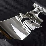 YHMTIVTU Motorcycle Chrome Saddle Heat Shield