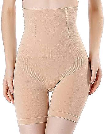 13ee4eb7a92 FLORATA Women s Hi-Waist Body Shaper Butt Lifter Shapewear Trainer Tummy  Control Panties Seamless Thigh