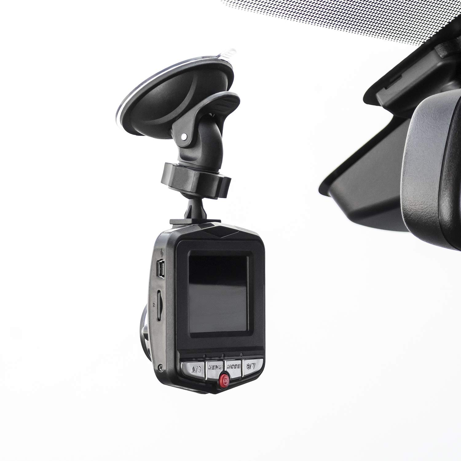Loop Recording Night View 720P Car DVR Dash Camera with SD Memory Card Motion Detection 120 Degree Wide Angle View