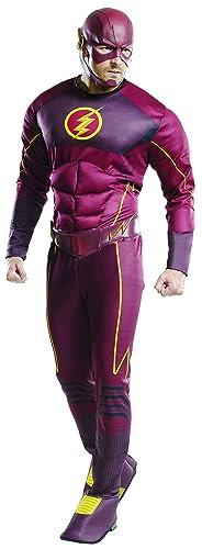 Men's Flash Deluxe Costume, Multi, Standard