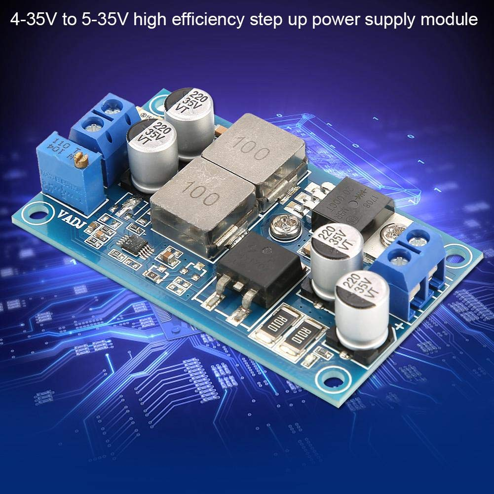 DC-DC 4-35V bis 5-35V Einstellbare Spannung Step Up Converter Boost-Stromversorgungsmodul Hilitand Step-Up-Modul