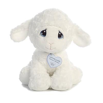"Aurora - Precious Moments - 12"" Luffie Lamb - Medium: Toys & Games"