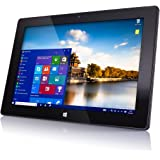 "10"" Windows 10 Fusion5 FWIN232 Plus S1 Ultra Slim Tablet Computer - (4GB RAM, USB 3.0, Intel, 5MP and 2MP Cameras…"