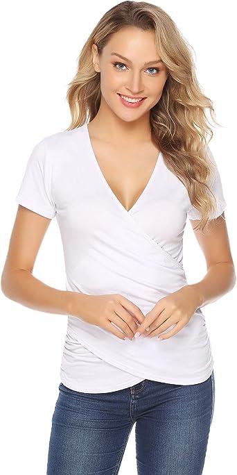 t-shirt femme moulant